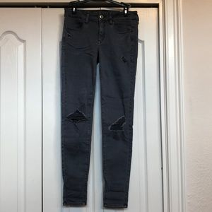NEVER WORN American Eagle skinny jeggings